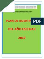 Plan Del Buen Inicio 2019