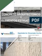 Presentacion Concreto Arquitectonico y Otros Pref