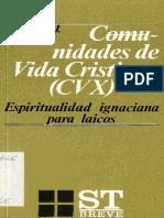 Ceferino García SJ.Comunidades de vida cristiana CVX.Espiritualidad ignaciana para laicos..pdf