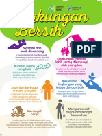 Flyer 2018 Lingkungan Bersih 15x21cm