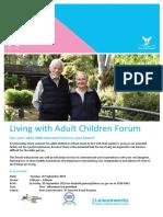 final adult returning home forum flyer