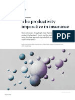 L'assurance, un secteur en difficulté… quant à sa productivité