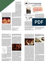 Predigtskript, 2008-06-01, Brennend im Geist 1, Feuer um die Welt