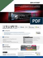 Car Audio DEH X4750BT