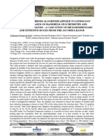 kNN algorithm applied to lithology prediction