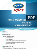 Food Hygiene and Safety Management Ppt