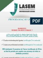 APRESENTAÇÃO LIGANTES 2019