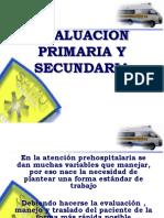 Evaluacion Primaria y Secundaria 2