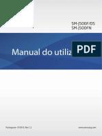 Samsung J500M J5 (DUAL SIM) Manual Do Usuário