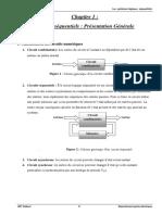 Chapitre 1 Circuits Sequentiels Presentation Generale