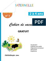 cahier Ps