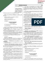 Reglamento del devengado tributario peruano