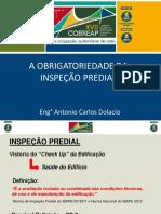 Antonio Carlos Dalocio a Obrigatoriedade Da Inspeção Predial