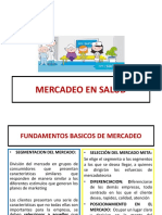 MERCADEO EN SALUD