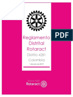 Reglamento Distrital Rotaract (1 de Julio de 2019)