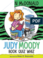 Judy Moody, Book Quiz Whiz Chapter Sampler