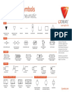 Hyd Pneu Circuit Symbols Poster