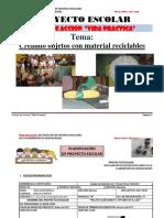Proyecto de Manualidades 2017 Gina Amazonas