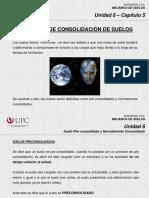 6.5 Suelos Preconsolidados y Normalmente Consolidados (MSD)