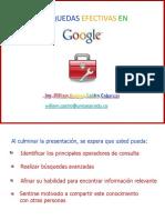 Busquedas Efectivas en Google