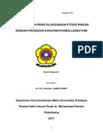 Diagnosis Dan Penatalaksanaan Ptosis Ringan Dengan Prosedur Konjungtivomullerektomi Final