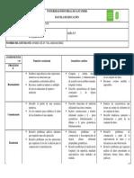 matriz de referencia para el grado tercero de primaria en matemáticas.