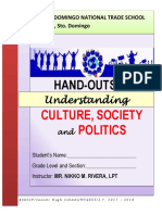 UCSP Hand Out