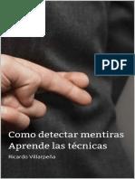 Como detectar mentiras- Ricardo Villarpeña