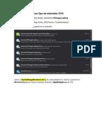 Cargar Imágenes Con Tipo de Extensión SVG en C#.NET