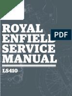 Himalayan Engine Ls 410 - Service Manual