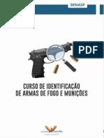 SENASP Curso de Identificação de Armas de Fogo e Munições