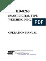 Manual Hb8260
