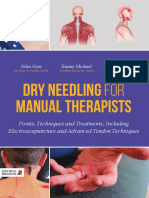 Dry Needling for Manual Therapists Points, Techniques and Treatments