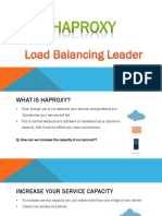 Haproxy load balancer