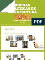 Buenas Prácticas de Manufactura 2019