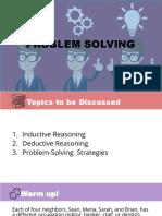 Class 01 (Inductive vs Deductive Reasoning)
