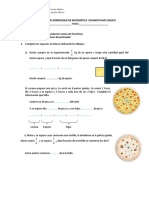 Guía de Aprendizaje Fracciones