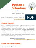 LAB Python-Django - Parte 2 - Python + Virtualenv