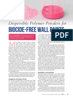 Dispersible Polymer Powders for Biocide-Free Wall Paints