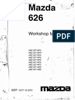 Cdd41353-Mazda 626 Workshop Manual de Taller