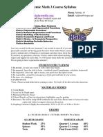 academic math 3 syllabus fall 2019  dalton