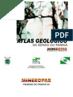 Atlas Geológico Paraná Mineropar