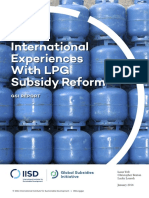 international experience with lpg subsidy reform