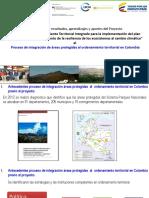 Proceso de integración de áreas protegidas al ordenamiento territorial en Colombia