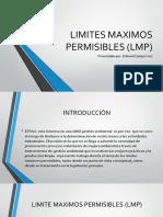 Limites Maximos Permisibles (Lmp)