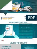 Presentacion Ticket Car.