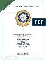 INSTRUCTIVO MASONICO N°3 -II GRADO- SIGNOS DEL COMP-convertido.docx