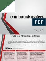 METODOLOGIA HISTORICA - Enfoques de pensamiento.pptx