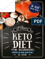 The Complete Keto Diet for Begi - S.J. Cook