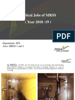 Critical Jobs of MRSS 1 and 2